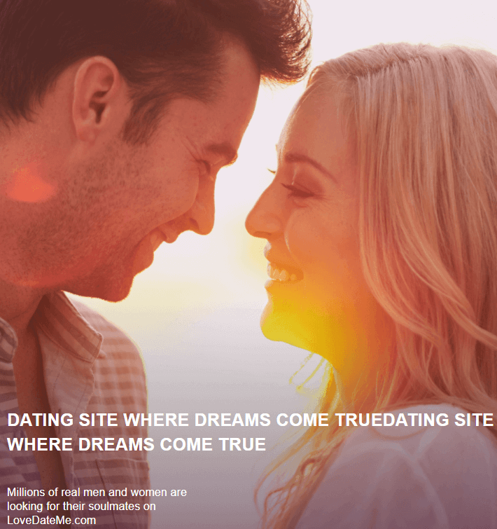Lovedateme Dating Site promo