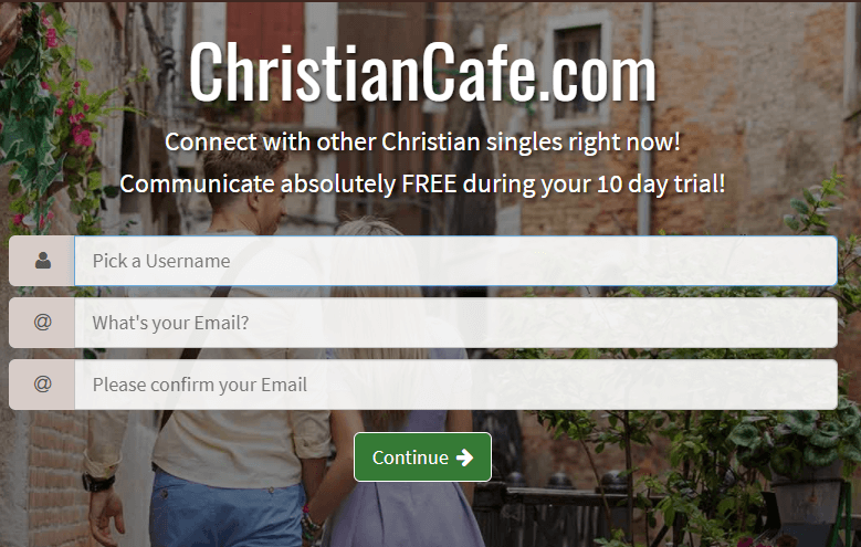 christiancafe sign in